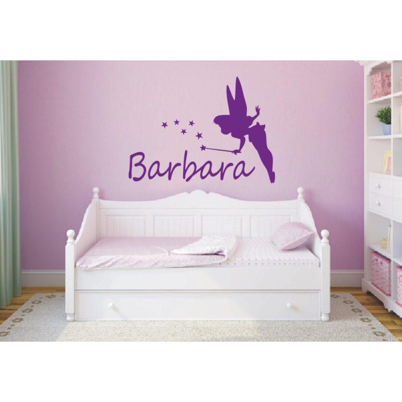 Lányos szoba 1 tündéres falmatrica