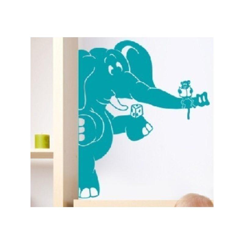 Elefánt 4 gyerekszoba falmatrica