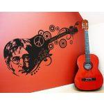 John Lennon gitár falmatrica
