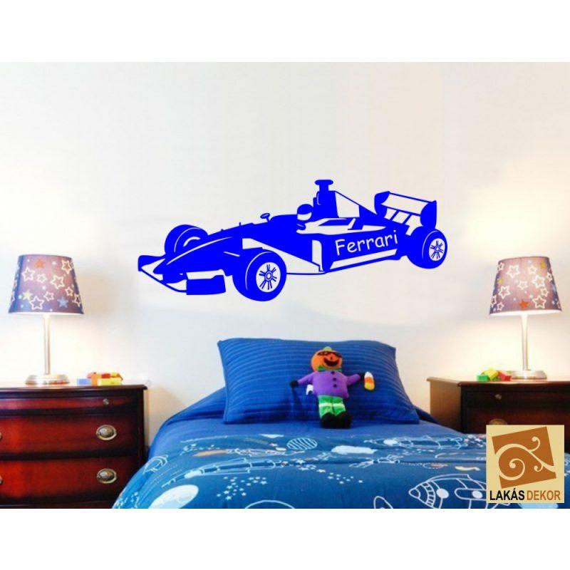 F1 autó falmatrica