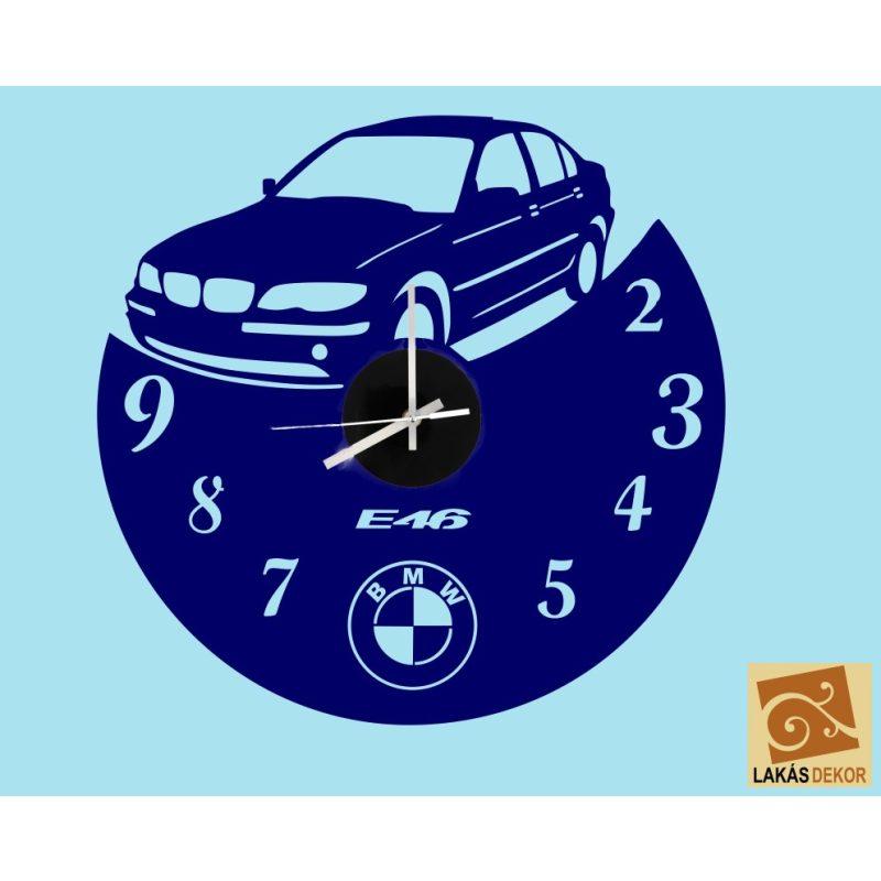 Óra 7 BMW falmatricás óra