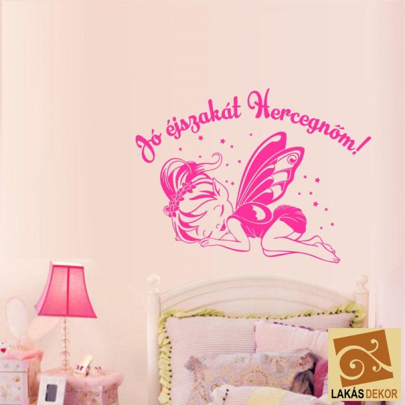 Alvós pillangólány névvel falmatrica