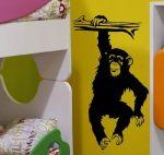 Csimpánz falmatrica