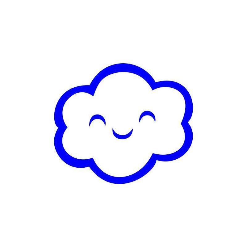 Felhő gyerekszoba falmatrica