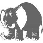 Elefánt 6 gyerekszoba falmatrica