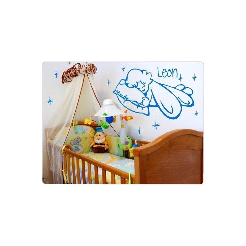 Baby gyerekszoba falmatrica 2
