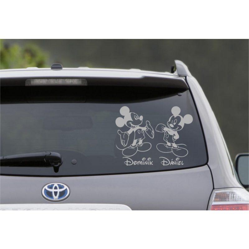 Autómatrica, Baba a kocsiban, Mickey fiúk