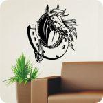 Szerencsepatkó, lovas falmatrica 2