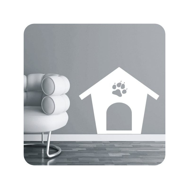 Kutyaház falmatrica 1
