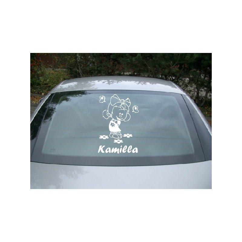 Autómatrica, Baba a kocsiban, Kislányka