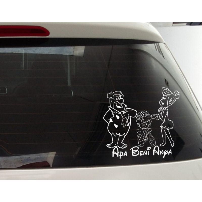 Apa, Kislfiú, Anya Autómatrica, Baba a kocsiban