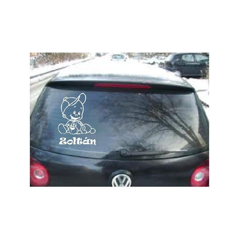 Autómatrica, Baba a kocsiban, Kisfiú kutyussal