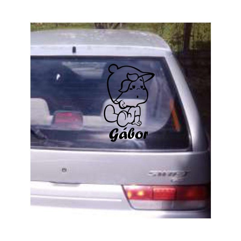 Autómatrica, Baba a kocsiban, Kisfiúcska
