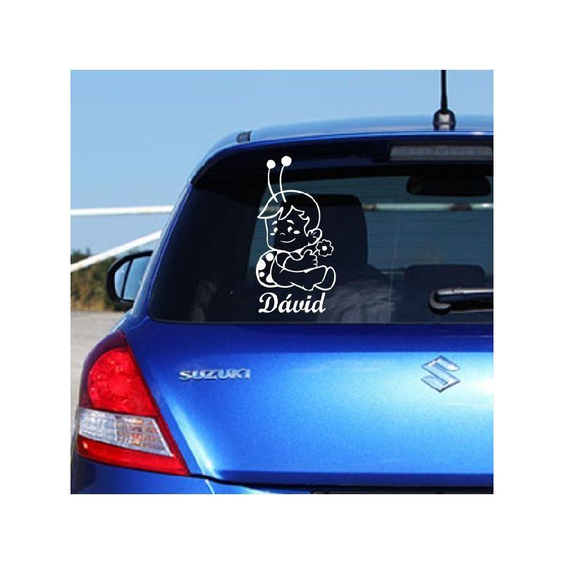 Autómatrica, Baba a kocsiban, Katicafiúcska virággal