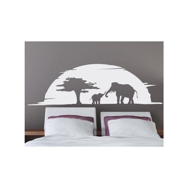 Elefántok falmatrica 2