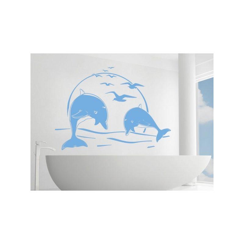 Delfinek nappal falmatrica