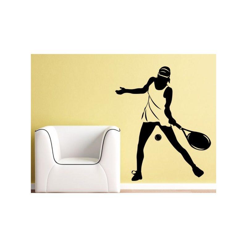 Teniszező nő, tenisz