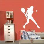 Teniszező nő 2, tenisz