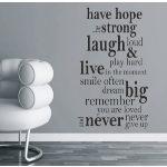 Have hope...Idézet falmatrica