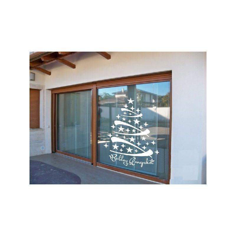 Karácsonyi ablakmatrica 2
