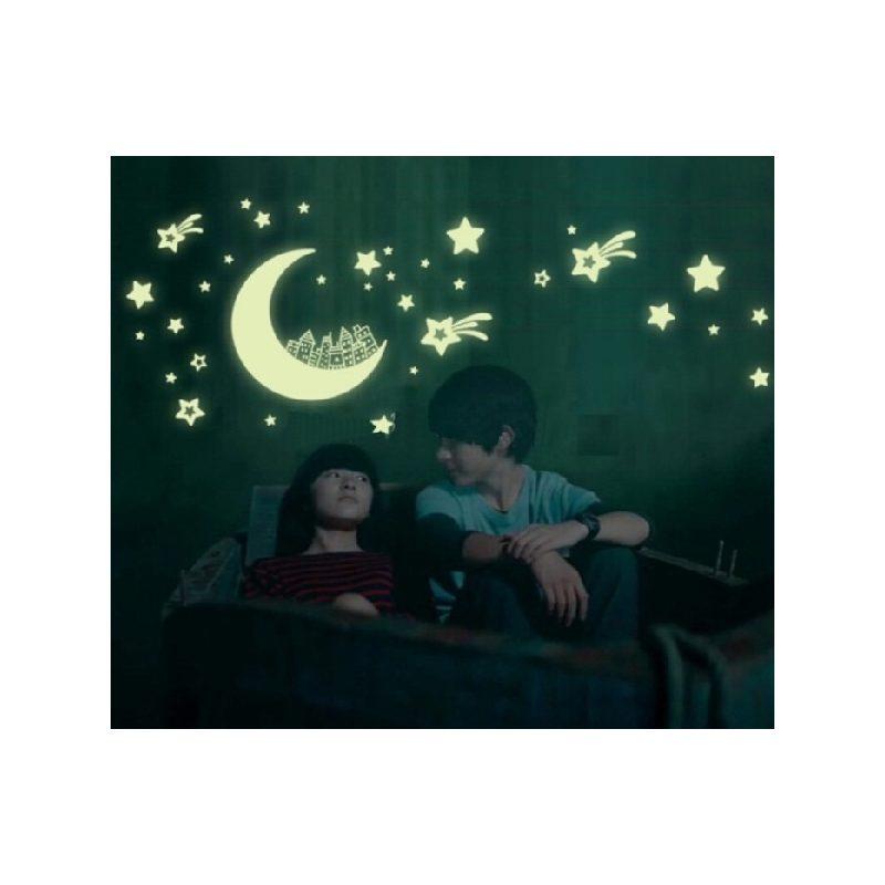 """Hold Csillagokkal """"Sötétben világít"""""""