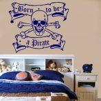 Kalóz, Pirate 1 gyerekszoba falmatrica