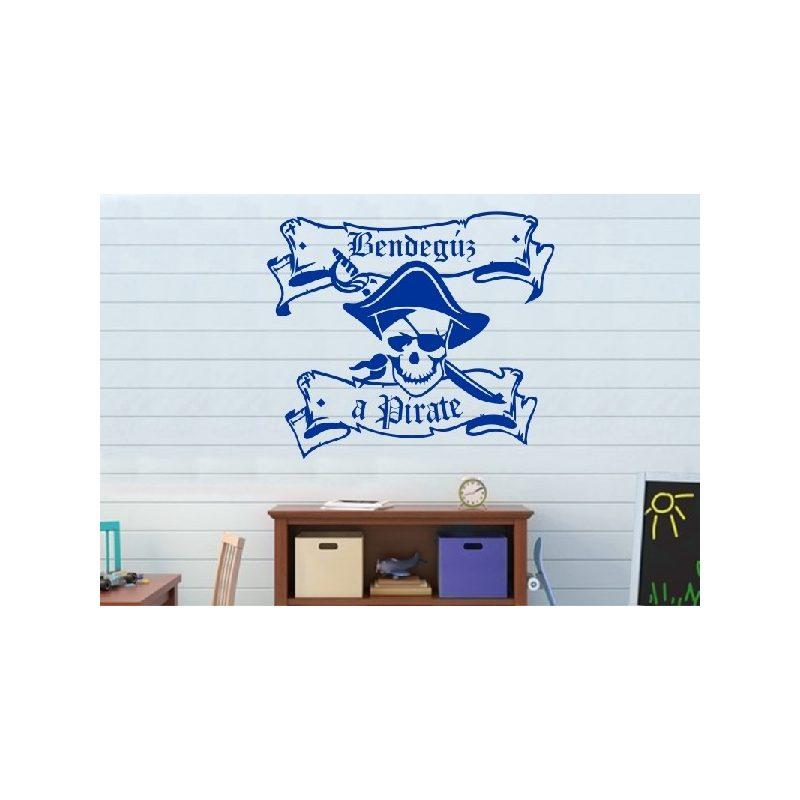 Kalóz, Pirate 2 gyerekszoba falmatrica