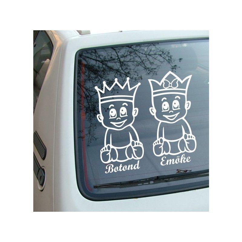 Autómatrica, Baba a kocsiban Királykás ikrek fiú-lány