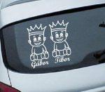 Autómatrica, Baba a kocsiban Királykás ikrek fiú-fiú