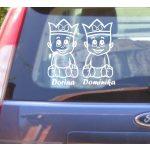 Autómatrica, Baba a kocsiban Királykás ikrek lány-lány
