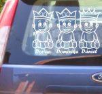 Autómatrica, Baba a kocsiban Királykás hármasikrek fiú-lány-lány