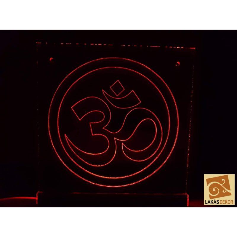 OM Szimbólum LED tábla