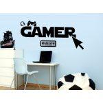 Gamer 2 gyerekszoba falmatrica