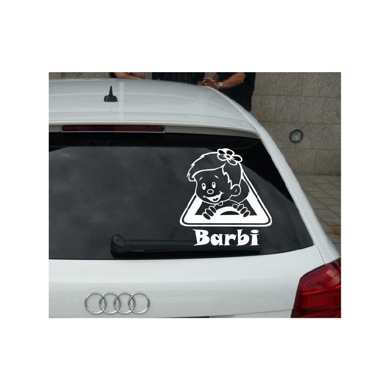 Autómatrica, Baba a kocsiban, Lányka háromszögben