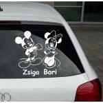 Autómatrica, Baba a kocsiban Egérlány és Egérfiú