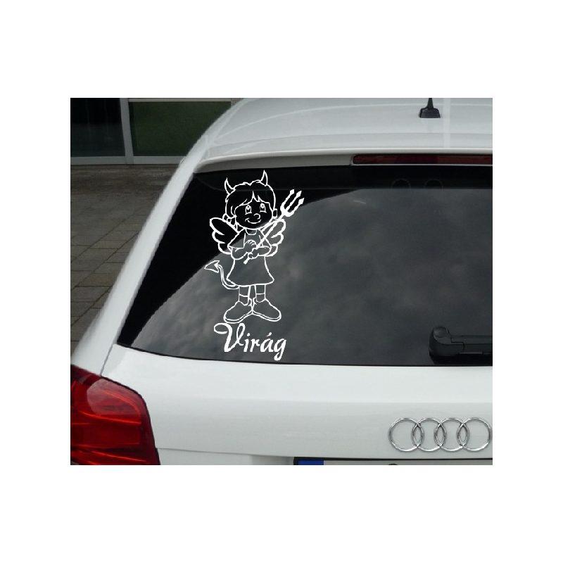Autómatrica, Baba a kocsiban, Ördög-Angyal Kislány
