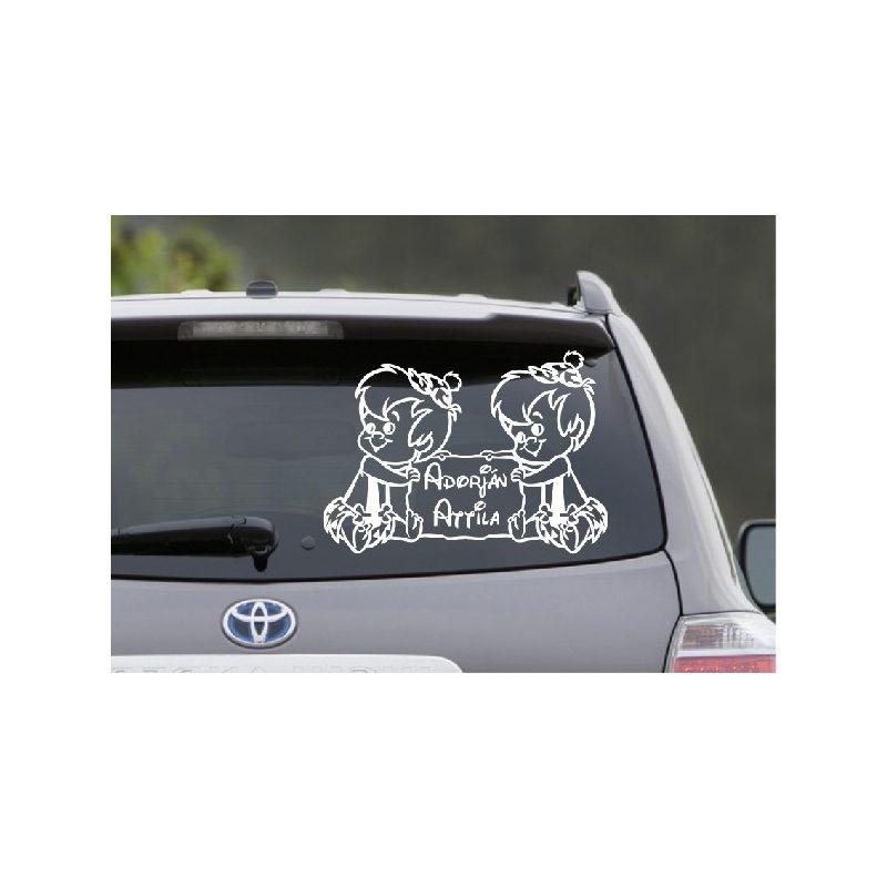 Autómatrica, Baba a kocsiban, Benő ikrek 2