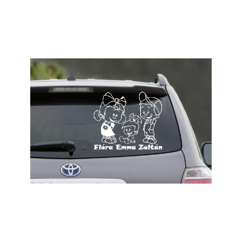 Autómatrica, Baba a kocsiban, Lánykák fiúval 1
