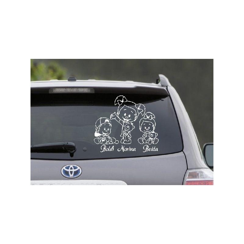 Autómatrica, Baba a kocsiban, Lánykák fiúval 3