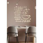 Falikép kávés 4 falmatrica