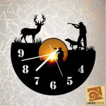 Vadászos óra