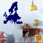 Európa térkép falmatrica