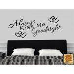 Always Kiss Me Goodnight falmatrica