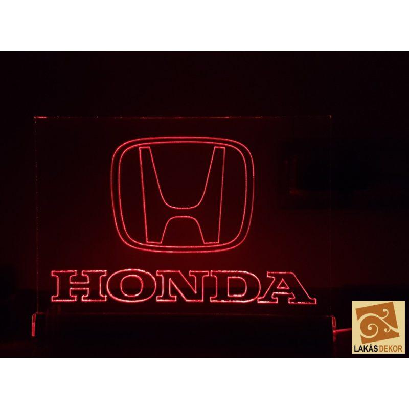 USB-S (5V) Autók logóival (Honda) LED tábla (számítógéphez, TV-hez)
