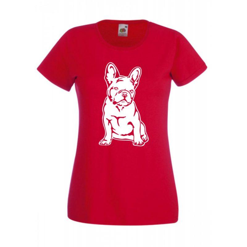 Francia bulldog női póló