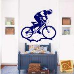 Kerékpáros 3 falmatrica