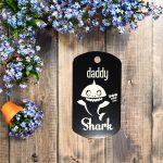 Daddy shark kulcstartó