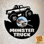 Monster Truck sziluett óra 2