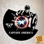 Amerikai kapitány bakelit óra