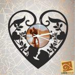 Szerelem sziluett óra